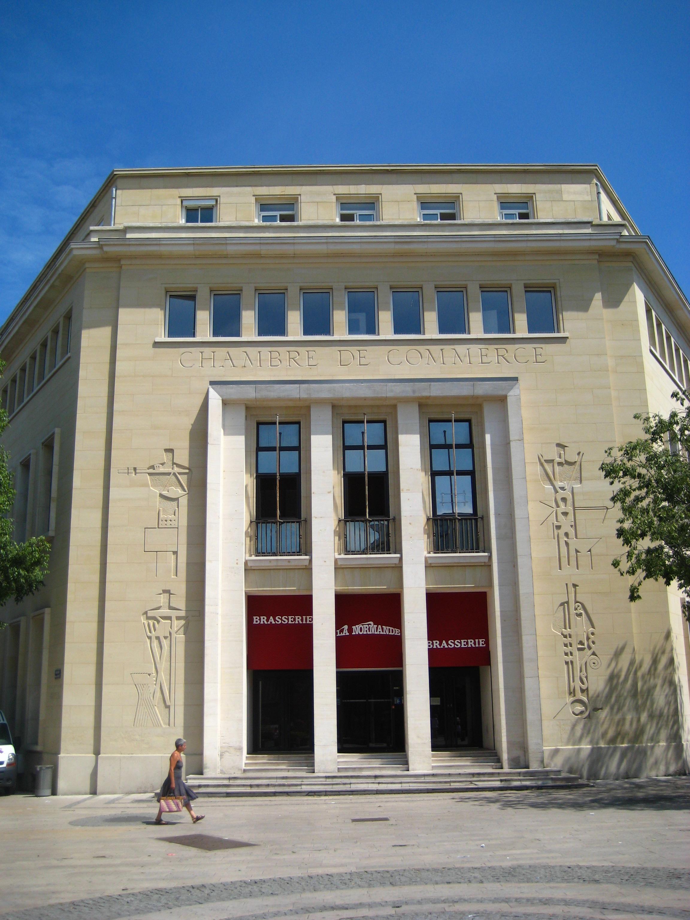 Ancienne chambre de commerce de caen wikiwand for Chambre de commerce wikipedia