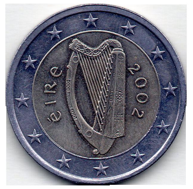 piece de monnaie irlandaise