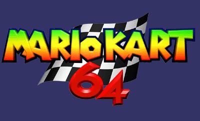 suite de chiffres en image - Page 3 Mario_Kart_64_Logo