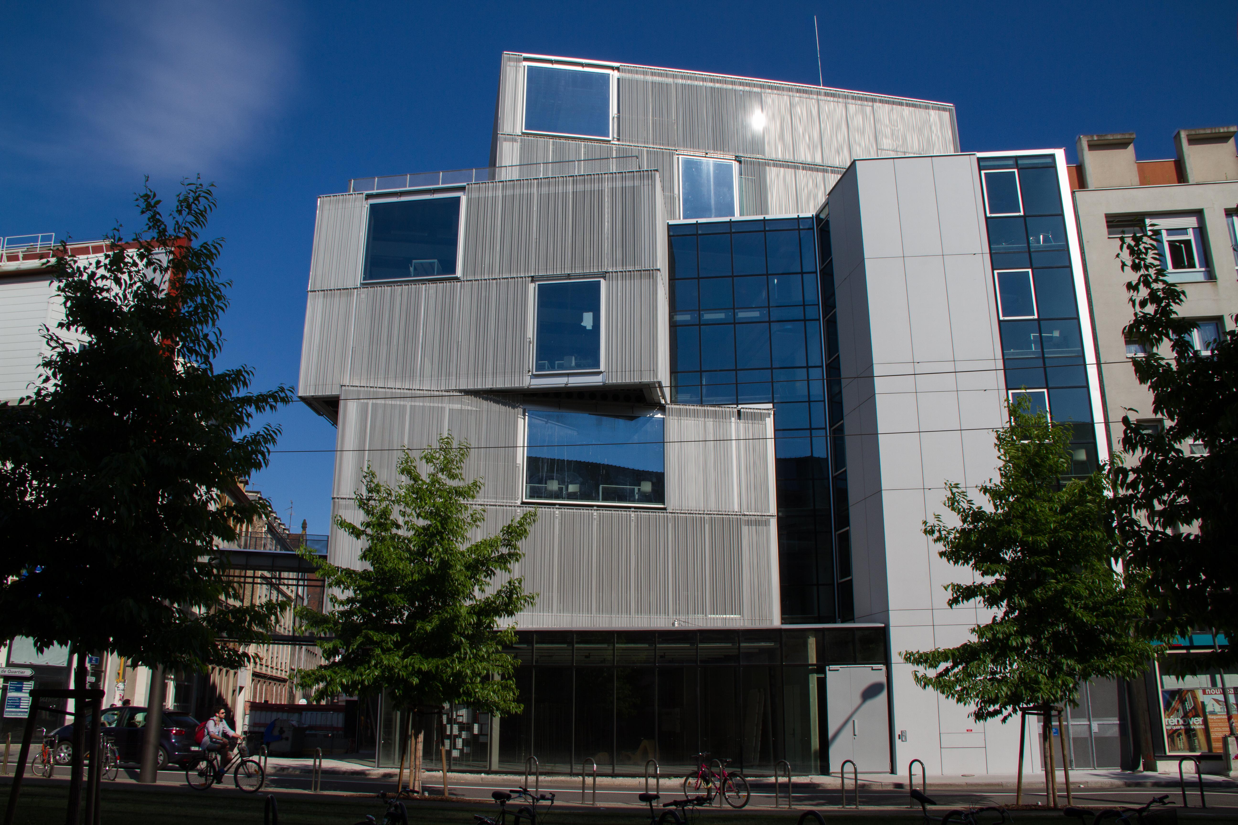 Cole nationale sup rieure d 39 architecture de strasbourg for K architecture strasbourg