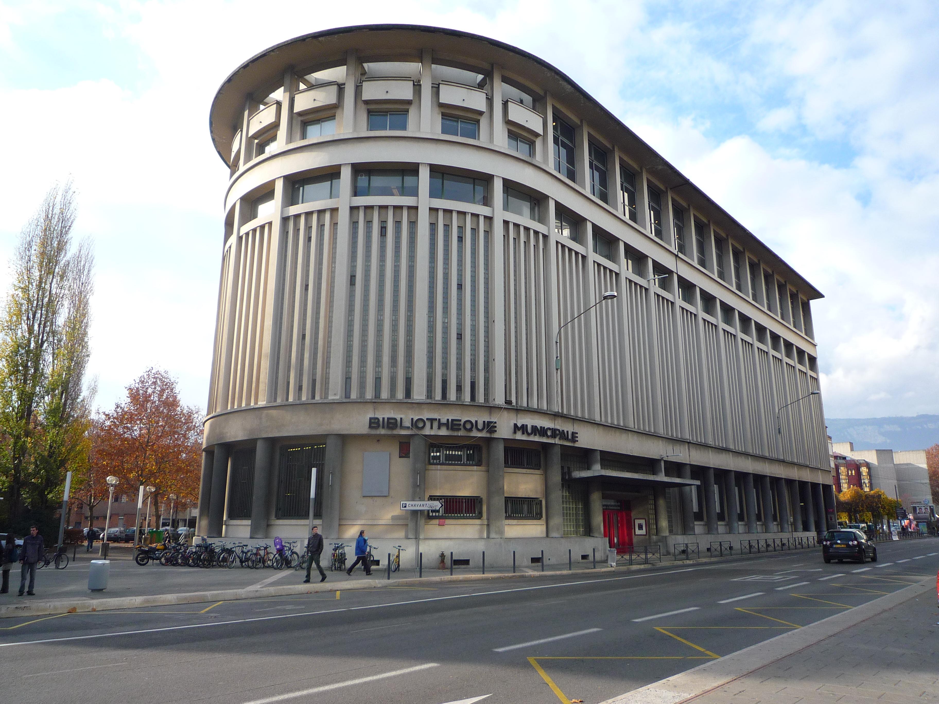 Bibliothèque municipale de grenoble u2014 wikipédia