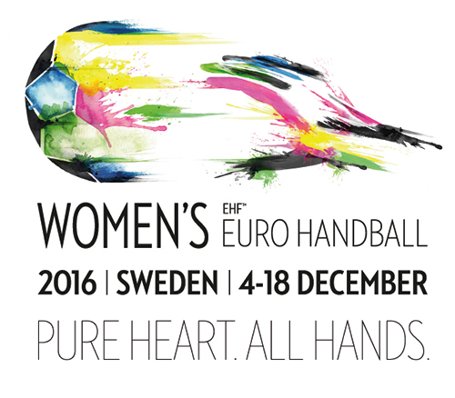 Description de l'image Euro 2016 handball féminin logo.png.