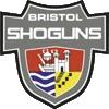 Logo des Bristol Shoguns.