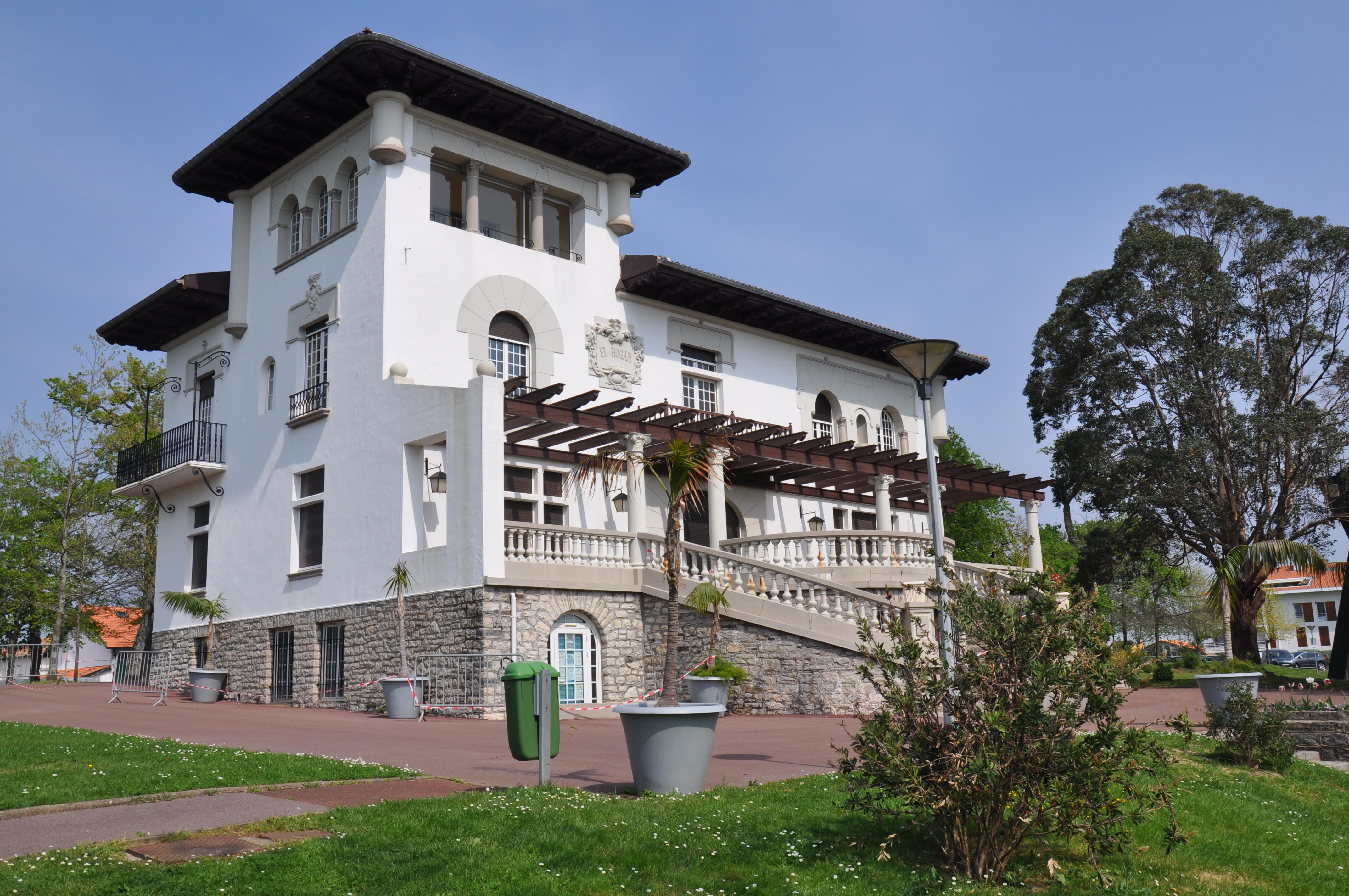 Fichier villa el hogar anglet jpg wikip dia for Autour de la maison anglet