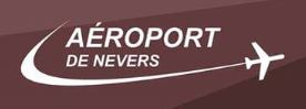 Logo 2019 de l'aéroport de Nevers