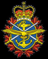 Emblème des Forces armées canadiennesDrapeau des Forces armées canadiennes