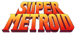 Logo de Super Metroid