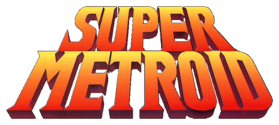 Logo de Super Metroid.