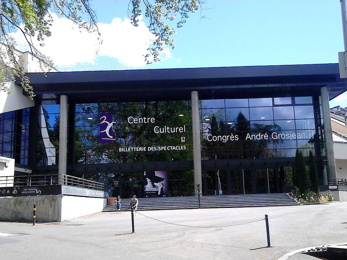 Centre culturel et des congrès andré grosjean u2014 wikipédia