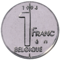Coin BE 1F Albert II rev FR 96.png