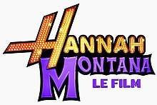 Description de l'image Hannah Montana, le film Logo.jpg.