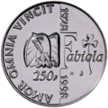 Coin BE 250F Baudouin Fabiola rev 101.png
