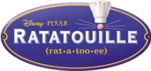 Description de l'image Ratatouille (film) Logo.png.
