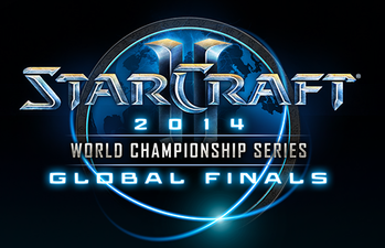 Description de l'image 2014 StarCraft 2 World Championship Series Global Finals Logo.png.