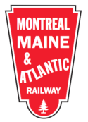 Logo de Montreal, Maine & Atlantic