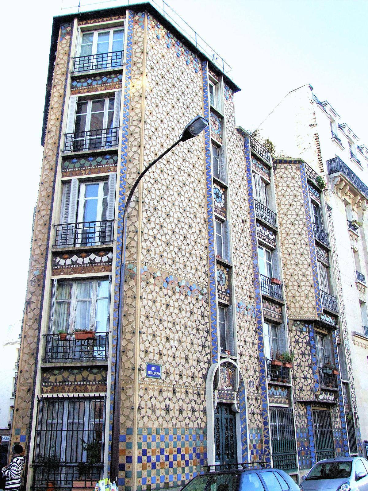 Immeuble deneux au 185 rue belliard paris wikip dia - Assurer un immeuble en copropriete ...