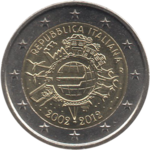 2 euros 10 ans Italie 2012.png