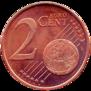 2 centimes face commune 1 et 2