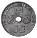 Coin BE 5c Leopold III rev FR-NL 68.png