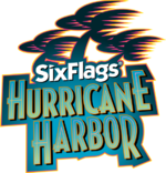 Six Flags Hurricane Harborin logo.png