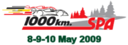 Description de l'image 1000km Spa 2009 logo.PNG.