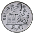 Coin BE 20F Mercury rev NL 75.png
