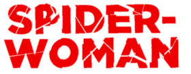 Logo de la série de comic books Spider-Woman