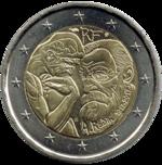 2 euro Rodin 2017.png