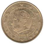 BE 50 euro cent 2008 Albert II.png