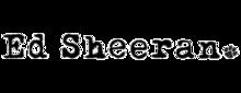 Ed Sheeran. 220px-EdSheeranLogo