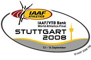 Description de l'image  Logo IAAF World Athletics Final 2008.jpg.