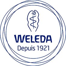 Description de l'image Logo WELEDA.jpg.