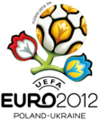 Logotype officiel de l'Euro 2012.