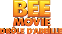 Description de l'image Bee Movie Drôle d'abeille Logo.png.