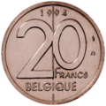 Coin BE 20F Albert II rev FR 94.png