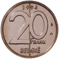 Coin BE 20F Albert II rev NL 94.png