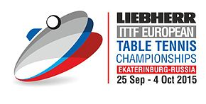 Description de l'image Championnats d'Europe de tennis de table 2015 logo.jpg.