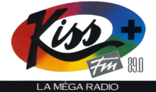 Description de l'image Kiss FM 1987 logo.png.