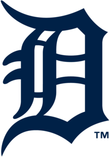 Description de l'image Detroit Tigers primary logo 2016.png.