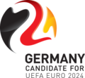 CHAMPIONNAT D'EUROPE DE FOOTBALL  2024 120px-Euro_2024_Allemagne_logo_candidature