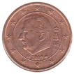 BE 1 euro cent 2009 Albert II.png