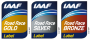 Description de l'image Logo IAAF Road Race Label Events.png.