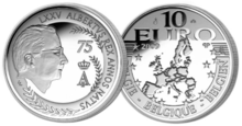 Coins BE 10€ 75 years Albert II.PNG