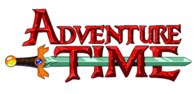 Logo de la série Adventure Time.