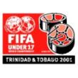 Logo de la Coupe du monde de football des moins de 17 ans 2001