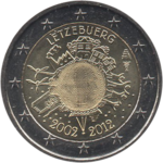 2 euros 10 ans Luxembourg 2012.png