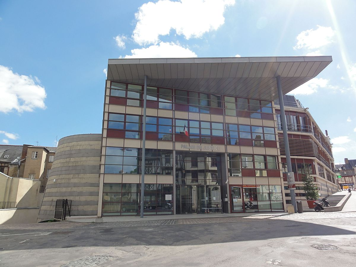 Px Palais De Justice De Laval Mayenne