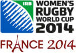 Description de l'image Coupe monde rugby XV féminin 2014 logo.png.