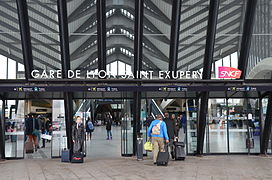gare de lyon saint exup ry tgv wikip dia. Black Bedroom Furniture Sets. Home Design Ideas