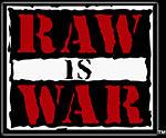 Le logo Raw is War, utilisé du 10 mars 1997 au 10 septembre 2001